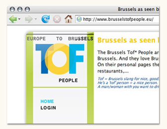 Brussels Tof People (website)