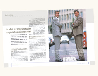 Exemple pages magazine Team